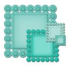 Beaded Squares S4-315