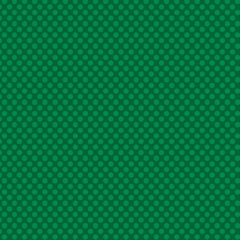 "Core'dinations Core Basics Cardstock 12 "" x 12 "" DUNKEL-GRÜN Punkte groß / Dark Green Large Dots GX-"