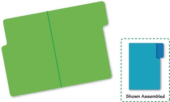 Sizzix Originals Large Stanzform Aktenordner klein / file folder 38-1105 / 654625