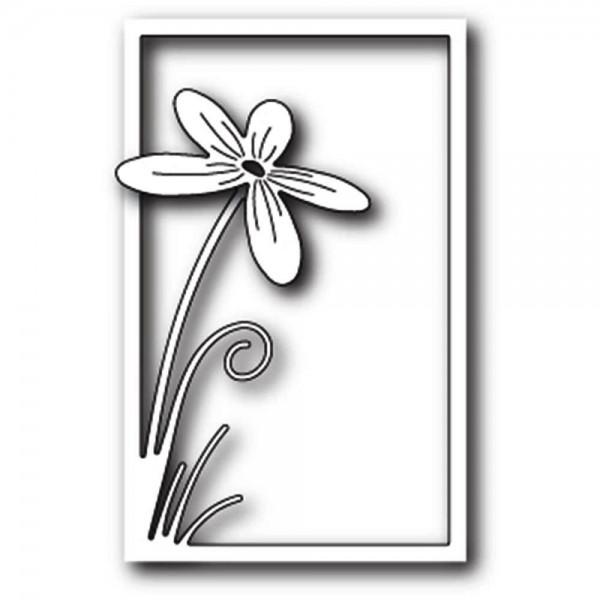 Poppystamps Stanzform Floral Stem Collage 1737