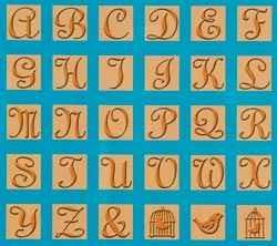 Cuttlebug All-in-One Alphabet SONGBIRD 2000291