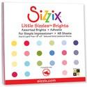 Sizzix Cardstock Papierblock mit Klebefolie 15,2 cm x 15,2 cm 654421