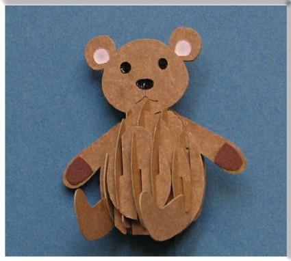SAR Eggimal-Teddybär / Eggimal - Bear DS-Bear