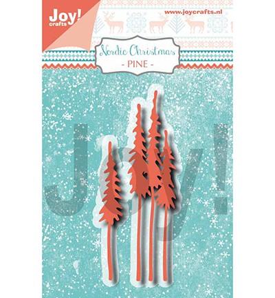 Joycrafts Stanzform Kiefern-Bäume / Nordic Christmas Pines 6002/1335