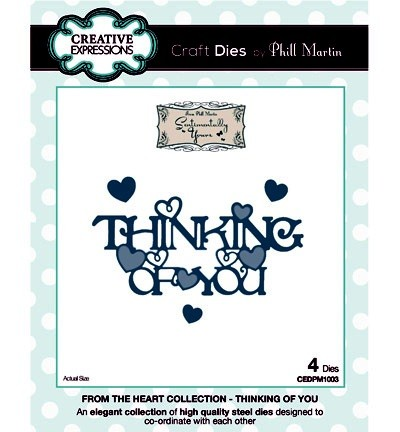 Creative Expressions Stanzform ' THINKING OF YOU ' CEDPM1003