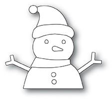 Memorybox Stanzform Schneemann / Build A Snowman 30113