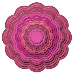 Big Scalloped Circle Large 11 S 4-249