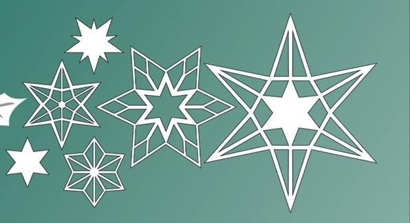 Lene Stanzform Sterne / Stars BLD1208