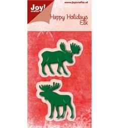 Joycrafts Stanzform Elch / Moose Elk 6002/0778