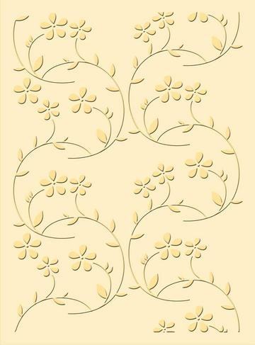 Prägefolder Blumenfantasien / flower fantasy 37-1940