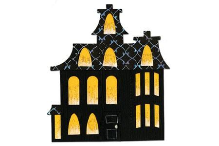 Sizzix Stanzform BIGZ Gespensterhaus / house haunted 656754