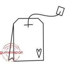 Gummiapan Stempelgummi Teebeutel KLEIN / Liten Tepase 15050107