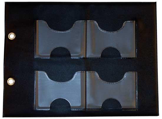 Aufbewahrungsseiten für Stanz-und Prägefolder medium 37-1578