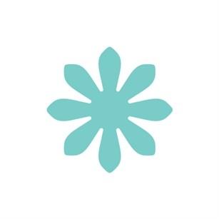 CARL Motivstanzer klein Blume CP-1 Daisy-S / VACT114 / 89-873-00
