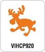 Motivstanzer Groß Elch laufend VIHCP920 ( gelb )
