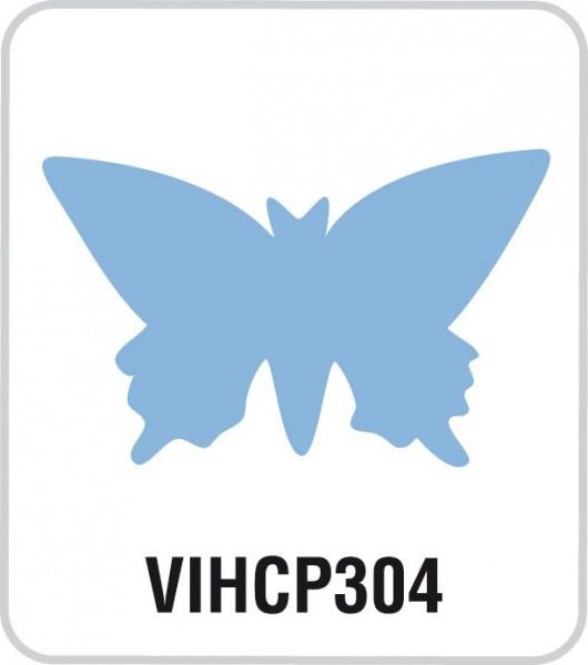 Motivstanzer Jumbo Schmetterling VIHCP304 ( blau )