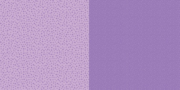Dini Design Scrapbook-Papier Punkte / Blumen Veilchenlila ( lila ) 2002