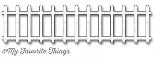 Die-namics Stanzform Zaun / Garden Fence MFT-614