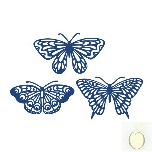Tattered Lace Stanzform Schmetterlinge / Butterflies D466