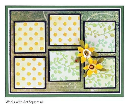 Elizabeth Craft Stanzform Garden Patch - 1 3/8 - inch & Mini Daffodils 1002