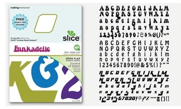 SLICE Design Karte Funkadelic ( MS + ) 33754