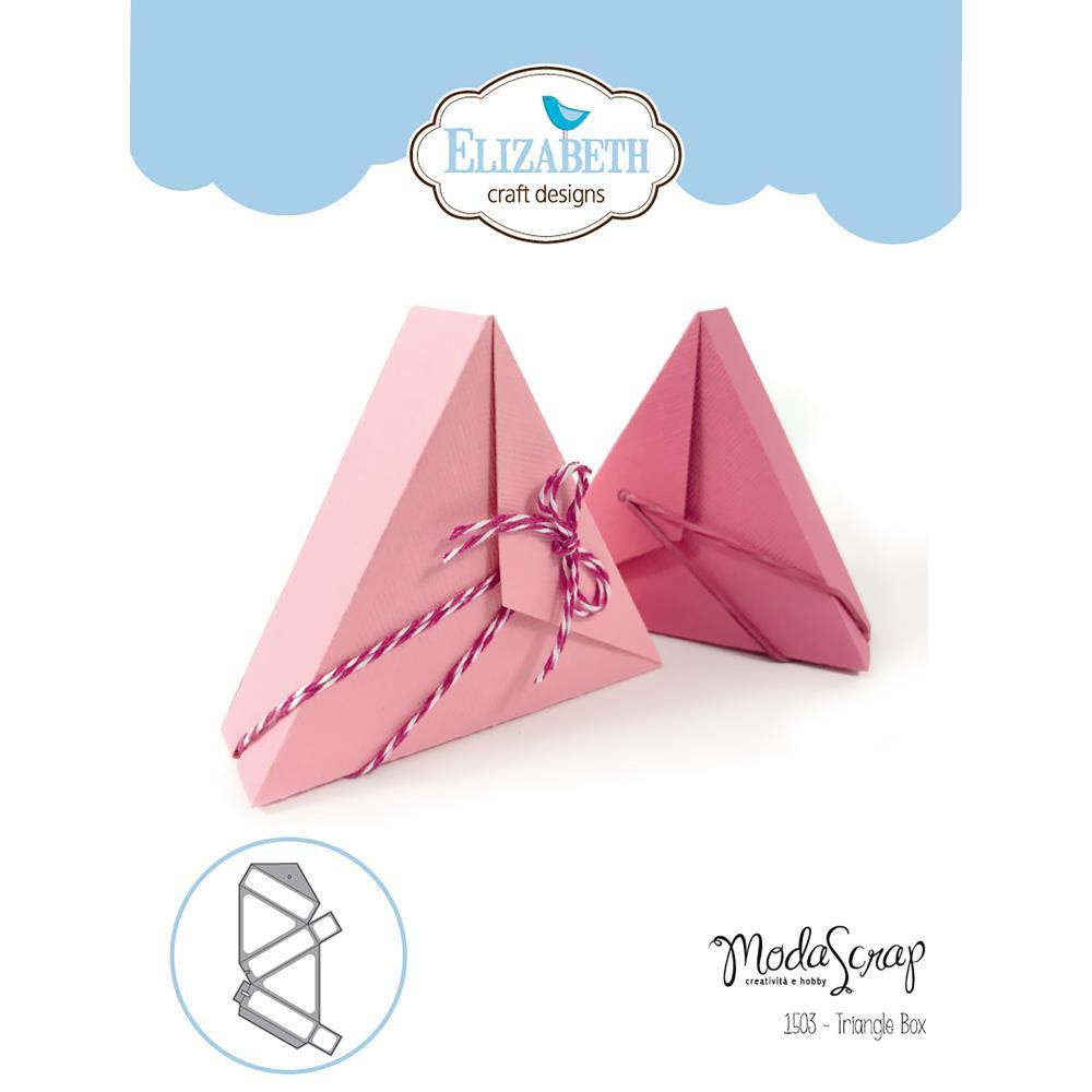 Elizabeth Craft Stanzform Dreiecksbox / Triangle Box 1503 ...