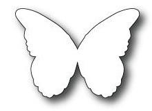Poppystamps Stanzform Schmetterling / Murana Butterfly 1008 disc.