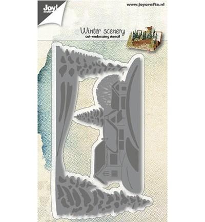 Joycrafts Stanzform Winterlandschaft / Winter Scenery 6002/1171