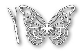 Memory Box Stanzf.Schmetterling/Willoughby Butterfly Wings 98901