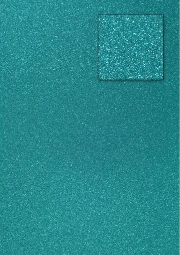 Glitterkarton PREUßISCHBLAU A 4 653002/0240 / 18930240