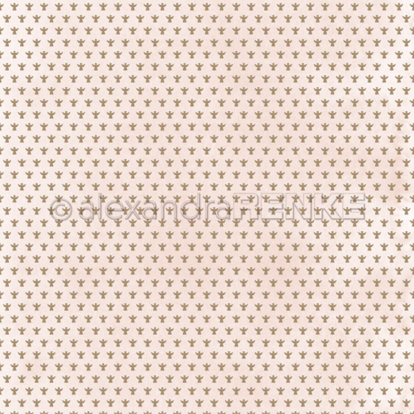 Alexandra Renke Designpapier ' Engelchen mit rosa ' 10.761