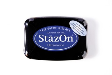 StazOn Stempelkissen blau / ultramaine SZ-000-061 / TSSZ61