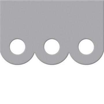 Crop-A-Dile III Cutting Plates Scallop Border 71033-2