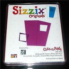 Sizzix Stanzform Originals L Karte u. Umschlag / wildcard & envelope bitty tall 38-1152