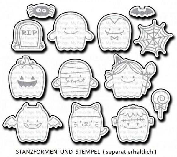 Dienamics Stanzform Gespenster / Fab-BOO-lous Friends MFT-1158
