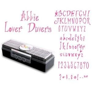 Sizzlits Alphabet Abbie Lover Duvers 655 323