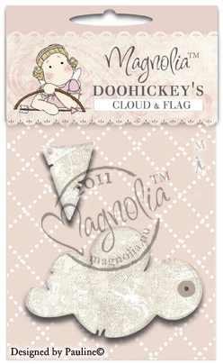 Magnolia Stanzformen Wolke & Flagge / cloud & flag M39315 / 31