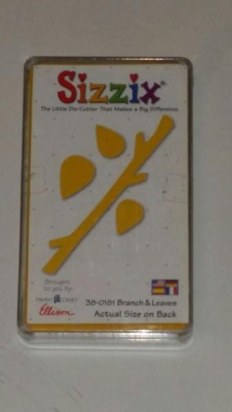 Sizzix Stanzform Originals MEDIUM Zweig u. Blätter / branch & leaves 38-0181