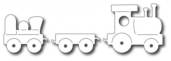 Frantic Stampers Stanzform Eisenbahn-Zug / Toy Train FRA-DIE-09784