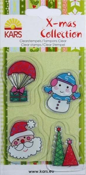 Clear Stamps X-mas Collection Nikolaus u. Schneemann 980003/007