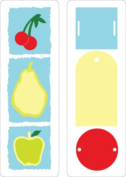 Cuttlebug Stanzform Border 2-er Früchte u. Anhänger / fruit & tags 37-1116