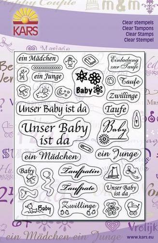 Clear Stamps unser Baby ist da