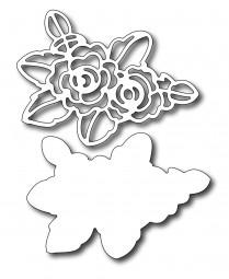 Frantic Stampers Stanzform Rose / Stencil Rose FRA-DIE-09167