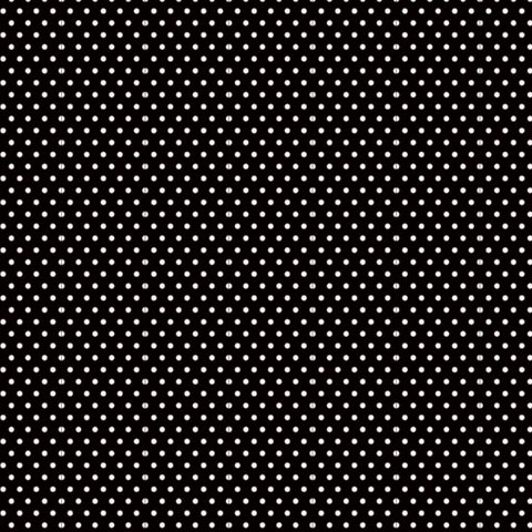 "Core'dinations Core Basics Cardstock 12 "" x 12 "" SCHWARZ Punkte klein / Black Small Dots GX-2300-85"