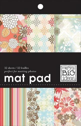 """Mat Pad Papierblock Fashion District 5 """" x 7 """" = 12,7 cm x 17,8 cm MPS-25"""