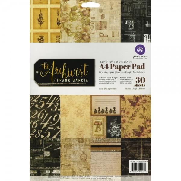Prima Marketing The Archivist A 4 Paper Pad 990275