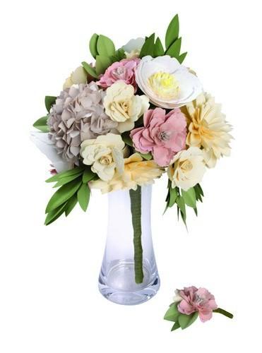 Sizzix DIY Kit Bouquet & Boutonniere 661894
