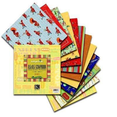 """Papierblock KAZOO KIDS 8,5 """" x 8,5 """" 624863"""