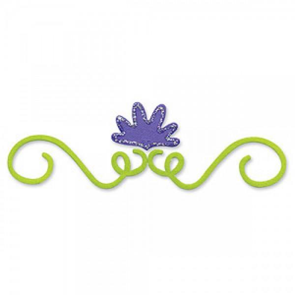 Sizzix Stanzform BIGZ Blume & Stengel Ornament # 1 / flower & vine # 1 654707