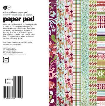 Paper Pad ESKIMO 15,2 cm x 15,2 cm ESK-2012